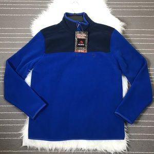 Brooks Brothers Polartec fleece Half zip sweater